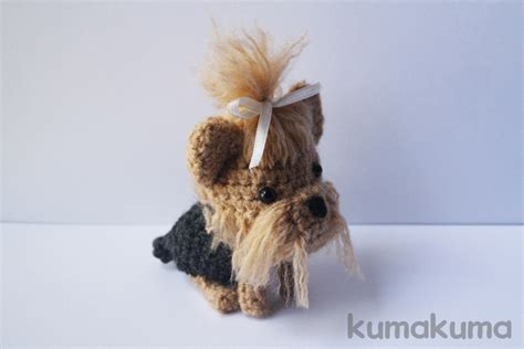 amigurumi yorkie pattern yorkshire terrier amigurumi by kumakumashop on deviantart