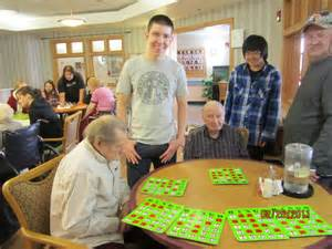 the world in our home nursing home volunteer activity