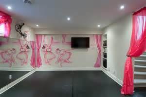 Ballerina Wall Mural just basements ottawa basement design build