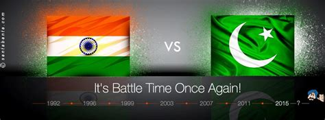 battle ground india  pakistan wc