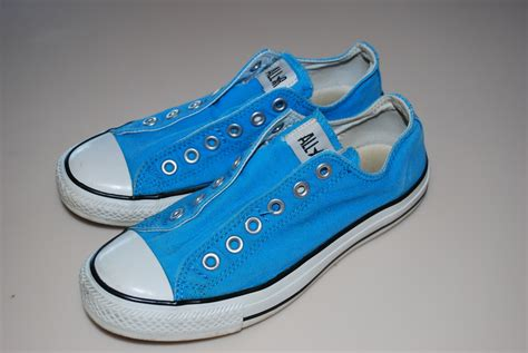 Converse All 7 converse all slip on sneakers aqua turquoise blue