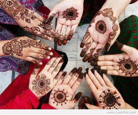 Stylish Tikka Mehndi Designs For Hands 2014   Beautifull
