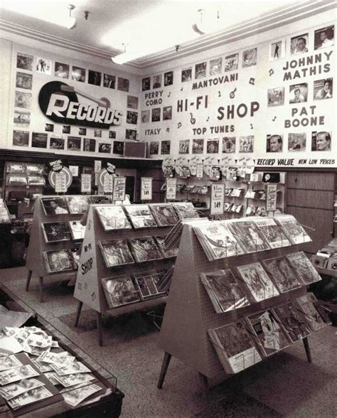 Dept Of Records The Nifty Fifties Woolworth S Record Department In Utica