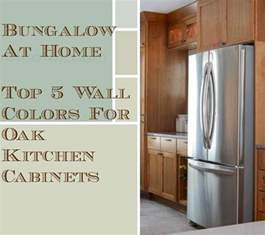 5 top wall colors for kitchens with oak cabinets colors