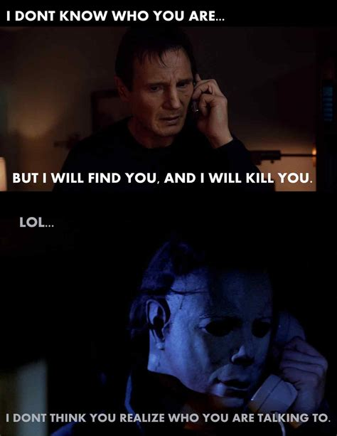 Funny Horror Movie Memes - liam neeson will have trouble with this one wicked horror