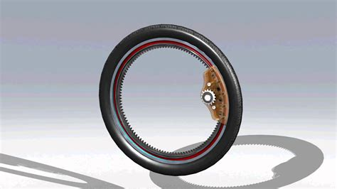 Electric Wheelchair by Hubless Bicycle Rim Concept Youtube