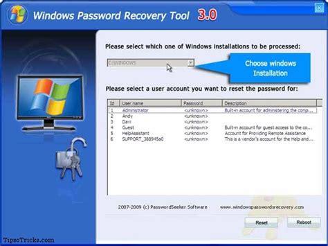 tool reset windows 10 password 10 tools to recover forgotten or lost windows password