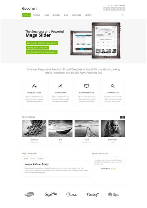 drupal theme link 15 hand picked beautiful drupal themes