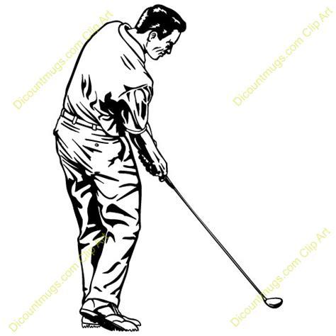 golf swing clip art golf swing clipart