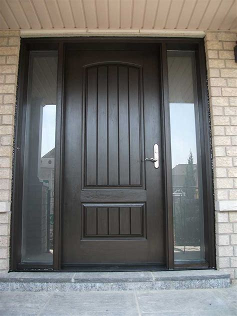 Cheap Exterior Doors Exterior Doors Cheap Mahogany Wood Doors Exterior With 2 Sidelights Cheap Prehung Exterior
