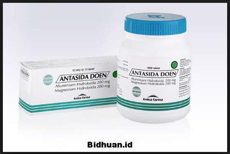 Obat Asam Lambung Antasida antasida doen komposisi indikasi dosis dan penggunaan