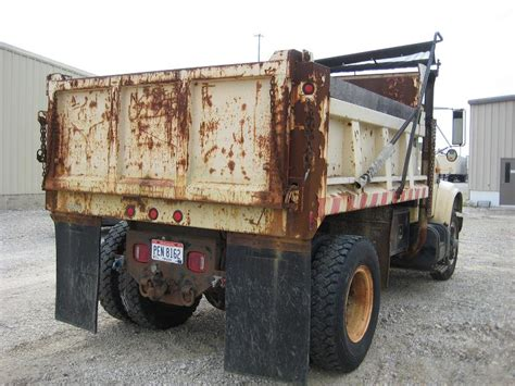 dump truck bed manufacturers dump truck in 4900 steel bed single axle