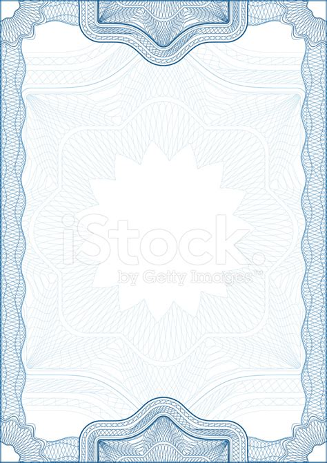 passport background pattern vector classic guilloche border for diploma or certificate stock