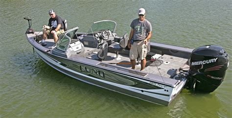 lund sport fishing boats for sale lund 2175 pro v sport review boat