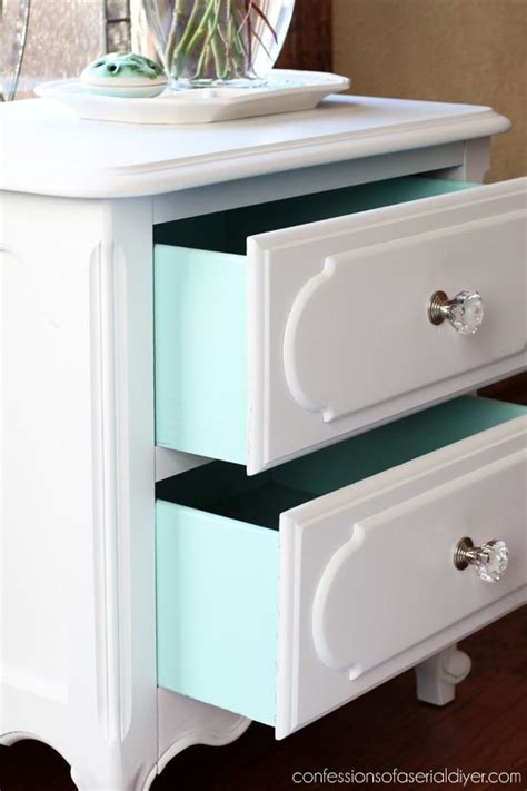 Should You Paint The Inside Of Dresser Drawers by 25 Best Ideas About Refinished Nightstand On