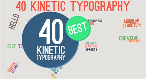 powerpoint kinetic typography template popular sles