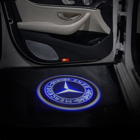 New Item Car Door Light Projector N Play Murah Baru awesome 2pcs logo led door courtesy light ghost shadow laser projector for mercedes 2017