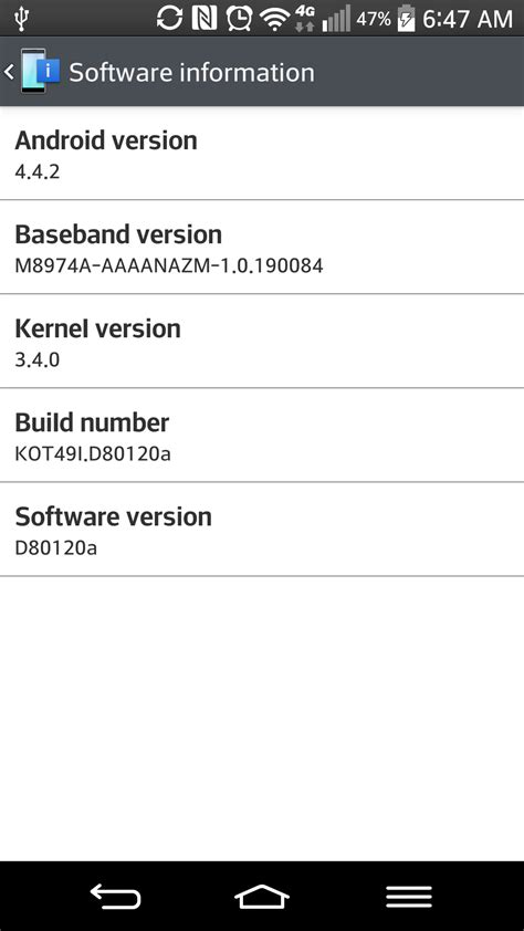 android 4 4 2 update install official lg g2 kitkat android 4 4 2 update the android soul