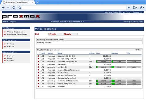 proxmox ve efficient virtualization tech surveypoint com