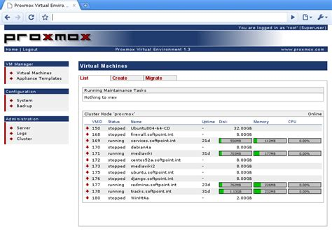 proxmox openvz templates proxmox ve efficient virtualization tech surveypoint