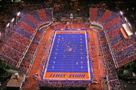 Blue Turf by Visit Quot The Blue Quot Boise State Football S Home
