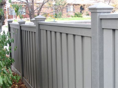 attractive modern home design which fence designs by