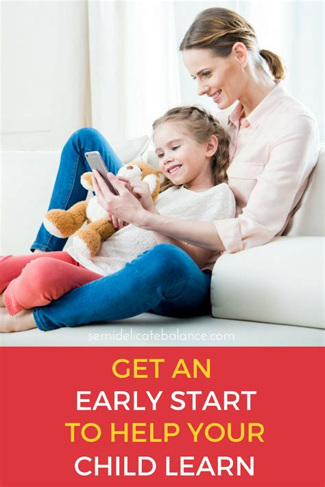 How to Get an Early Start To Help Your Child Learn   Semi