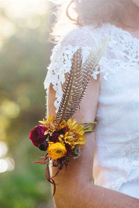 bold boho chic fall wedding ideas weddingomania