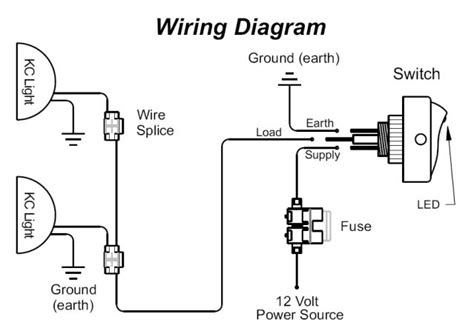 relay wiring diagram for fog lights circuit and