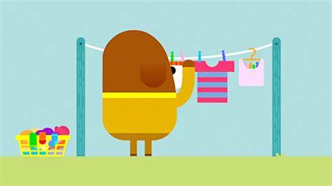 duggee underwear wash gif find  gifer