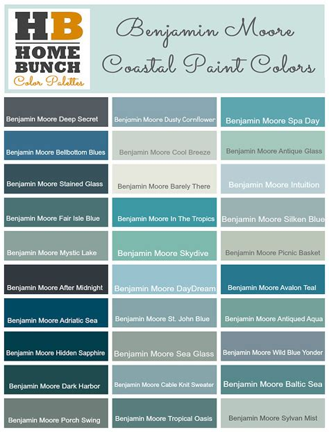 benjamin moore paint colors popular paint color and color palette ideas home bunch