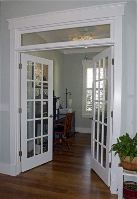dining room doors this opening is identicle between living room and dining