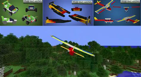 Cars Boats And Planes the rc mod for minecraft 1 7 10 1 7 2