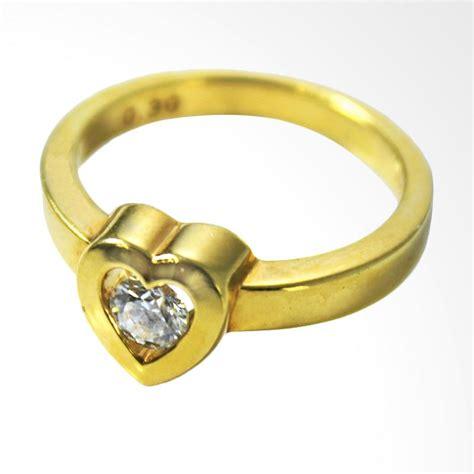 berlian eropa sertifikat 0 40 cts jual lavish r13302 cincin berlian eropa emas kuning 20k
