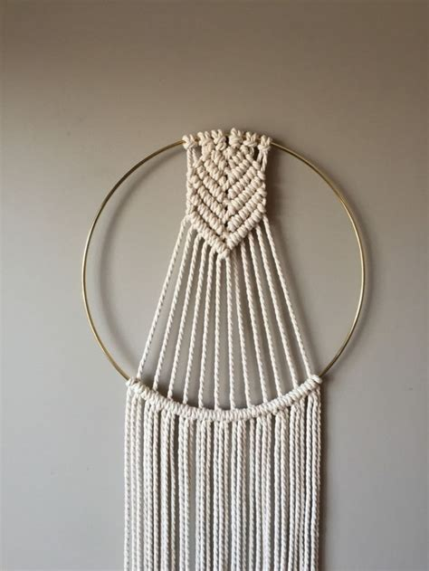projects  achieve  perfect macrame wall hanging