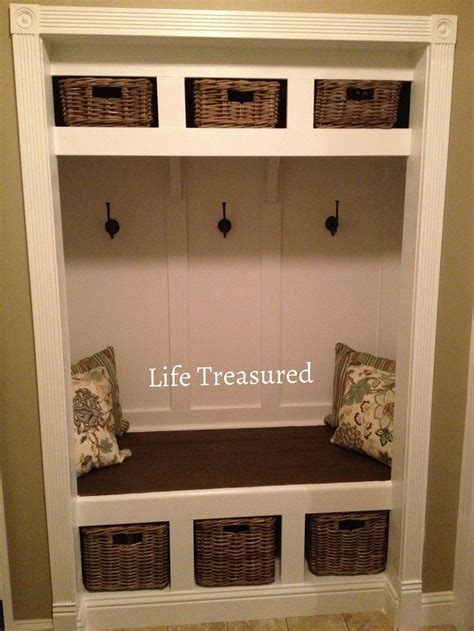 Closet To Mudroom by