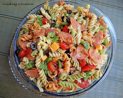 what is pasta salad cooking creation italian pasta salad with pepperoni red