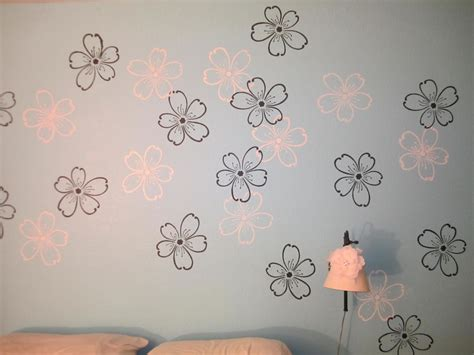 Make Your Own Watercolor Paper - california dreaming wall stencil