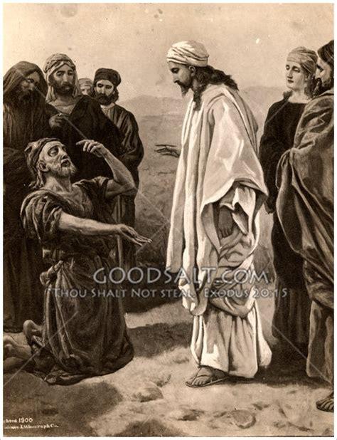 Blind Bartimaus Bartimaeus Healed