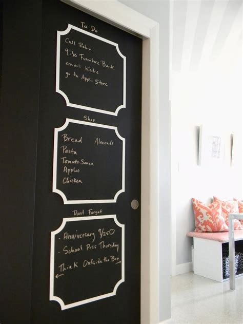 Chalkboard Sliding Closet Doors Stillwater Story Powder Room Purchasing Power