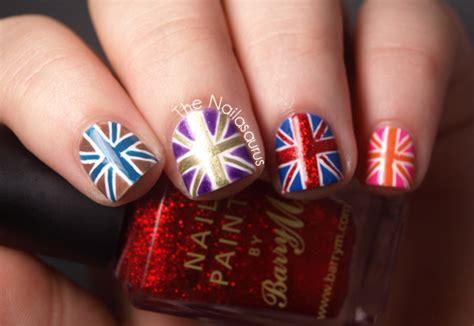 nail art tutorial british flag 50 most beautiful flags nail art ideas