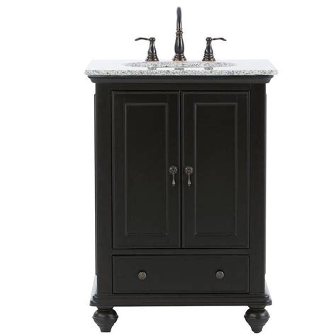 home decorator vanity home decorators collection hamilton 25 in shutter vanity