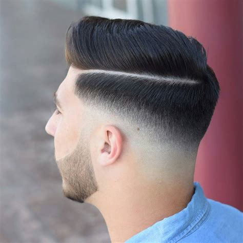 skin fade comb over hairstyle skin fade haircuts