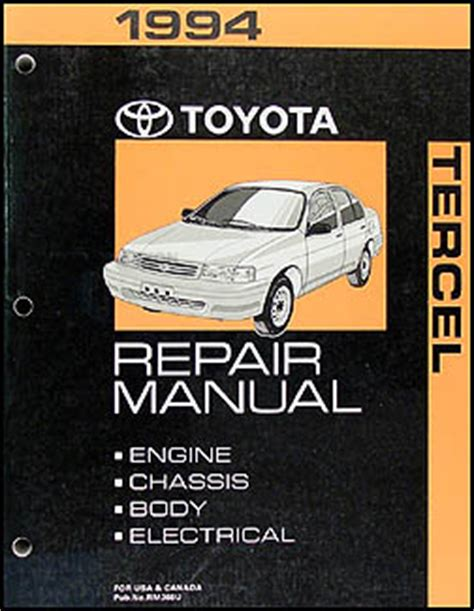 car repair manual download 1994 toyota supra transmission control 1994 2002 toyota corolla tercel 3 speed auto transmission repair shop manual