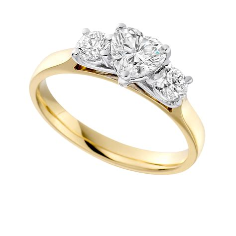 18ct yellow gold engagement ring ni