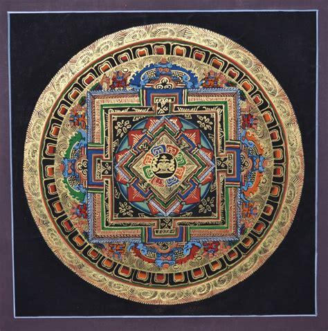 asian inspired home decor from nepal buddhist mandala thangka kalachakra mandala thangka tibet thangka and nepal thanka