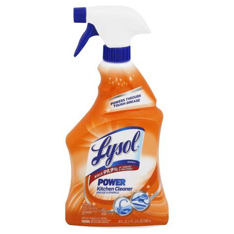 lysol power kitchen cleaner spray  ounce walmart inventory checker brickseek