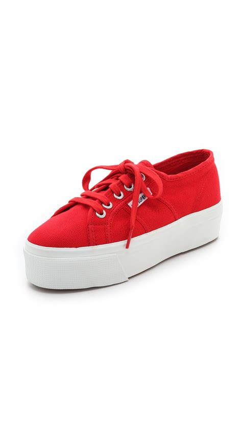 superga platform sneakers superga platform sneakers in lyst
