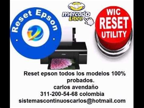 resetter epson c65 reset epson todos los modelos epson artisan workforce
