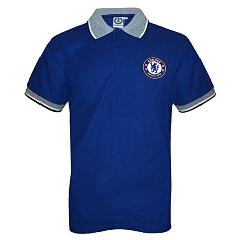 Polo Official Chelsea 007 chelsea fc official football gift mens crest polo shirt royal the set shop football merchandise